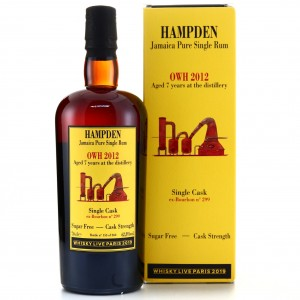 Hampden OWH 2012 Habitation Velier 7 Year Old / Whisky Live 2019