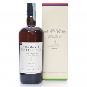 Chamarel 2010-2014 Velier Vatted Single Rum / 70th Anniversary