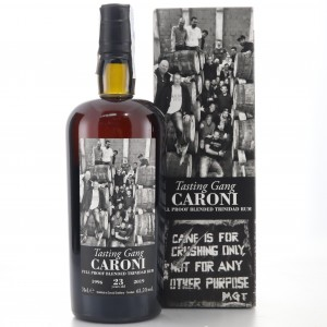 Caroni 1996 Velier 23 Year Old Full Proof Blended / Tasting Gang