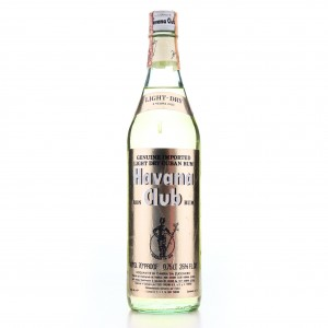 Havana Club 3 Year Old Light-Dry 1970s / Cinzano Import