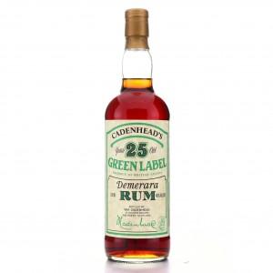 Demerara Rum 25 Year Old Cadenhead's Green Label