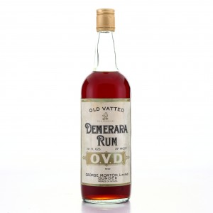George Morton 'OVD' Old Vatted Demerara Rum 1970s