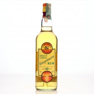 Guyana Rum 10 Year Old Cadenhead's Green Label