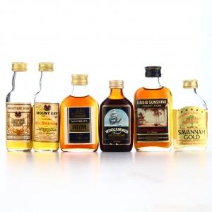 Rum Miniature x 6