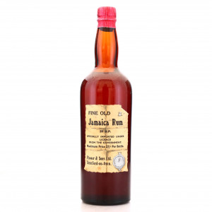 *Fine Old Jamaica Rum Flower and Sons 1940s