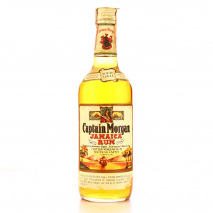 Captain Morgan White Label Rum 1970s