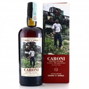 Caroni 1998 Velier 20 Year Old Full Proof Heavy / Dennis 'X' Gopaul