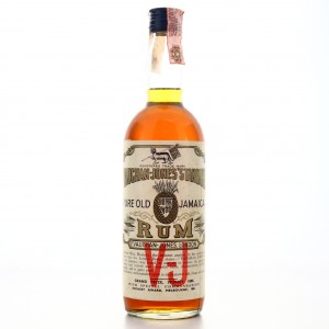 Vauchan-Jones' Standard Pure Old Jamaica Rum 1960s