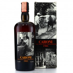 Caroni 1985 Velier 20 Year Old Full Proof Heavy