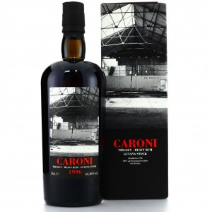 Caroni 1996 Velier 20 Year Old Guyana Single Cask #5602 / LMDW Trilogy