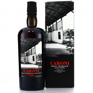 Caroni 1996 Velier 20 Year Old Guyana Blended Cask #5541 / LMDW Trilogy