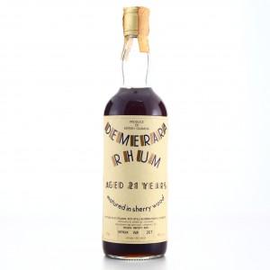 Demerara Rum Moon Import 21 Year Old Sherry Wood