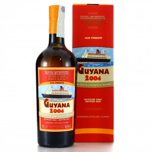 Guyana Rum 2004 Transcontinental Rum Line