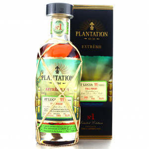 St Lucia 2005 Plantation 11 Year Old Extreme No.1 / LMDW 60th Anniversary