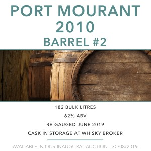 1 Port Mourant MPM 2010 Barrel #2 / Cask in storage at Whiskybroker