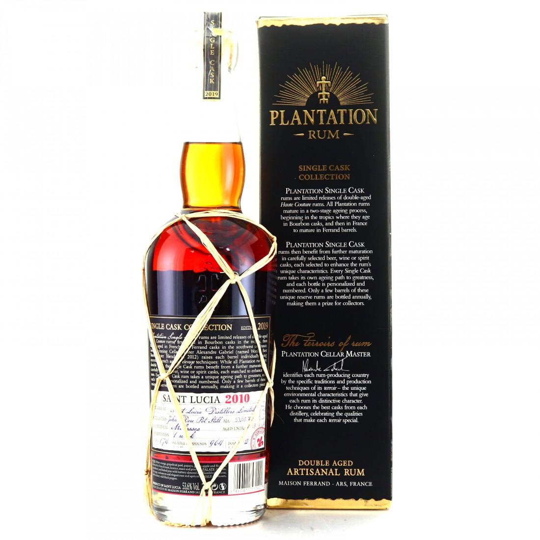 St Lucia 2010 Plantation Single Cask / Maison Ferrand | Rum Auctioneer