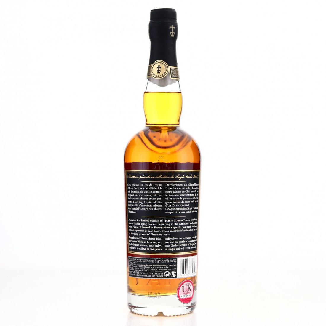 Barbados Rum XO Plantation Single Cask #16 / ex-Mackmyra ...