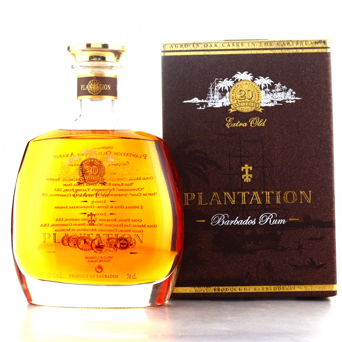 Barbados Rum Extra Old Plantation 20th Anniversary | Rum ...