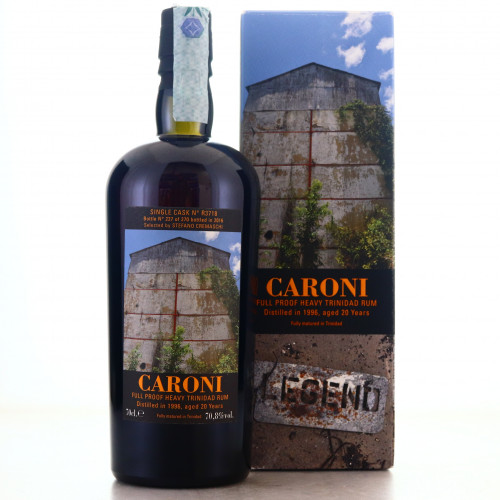 Caroni 1996 Velier 20 Year Old Single Cask Heavy #R3718 / Stefano Cremaschi