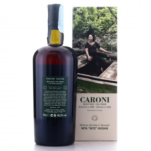 Caroni 2000 Velier Full Proof Heavy / Nita 'Nitz' Hogan