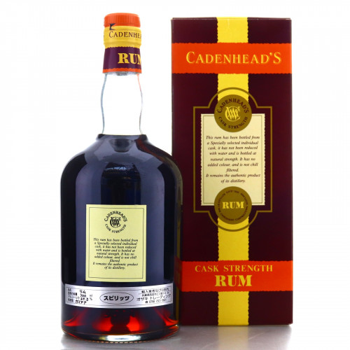 Port Mourant PM 1964 Cadenhead's 36 Year Old