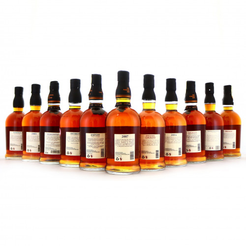 Foursquare Exceptional & Private Cask Selection 11 x 70cl