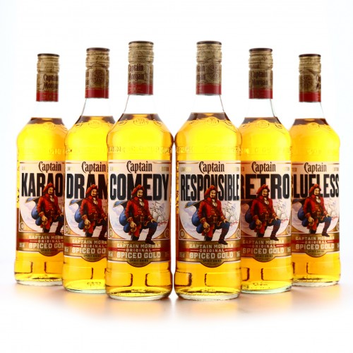 Captain Morgan Original Spiced Gold Limited Edition 6 x 70cl