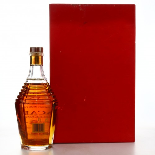 Bacardi 8 Year Old Millennium Baccarat Decanter 75cl